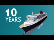 10º aniversario del Queen Mary 2